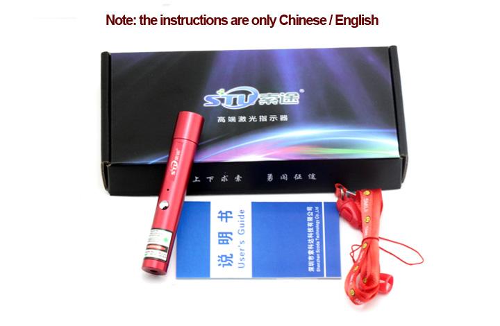 puntero láser rojo USB