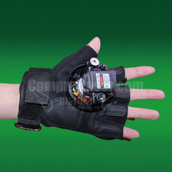 guantes laser verde