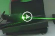 video puntero láser